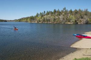 kayaking on jordan lake in pittsboro nc