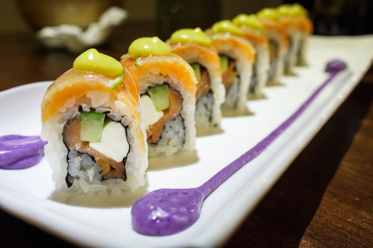 best places to eat in apex: sushi IWA