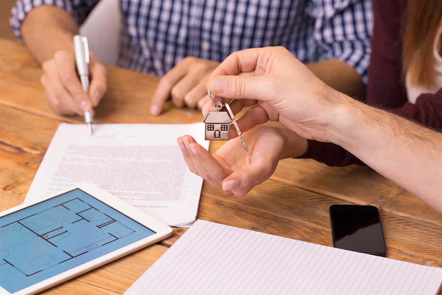 peace of mind from start to finish when using a buyers agent