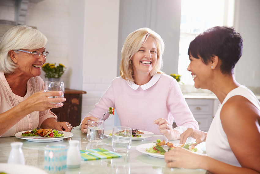 making new friends is one of many benefits of 55+ active adult communities